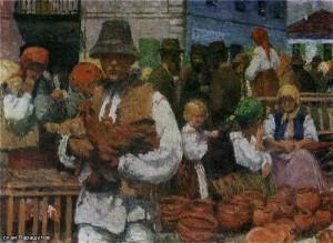 Ярмарка в Косове 1908 г.