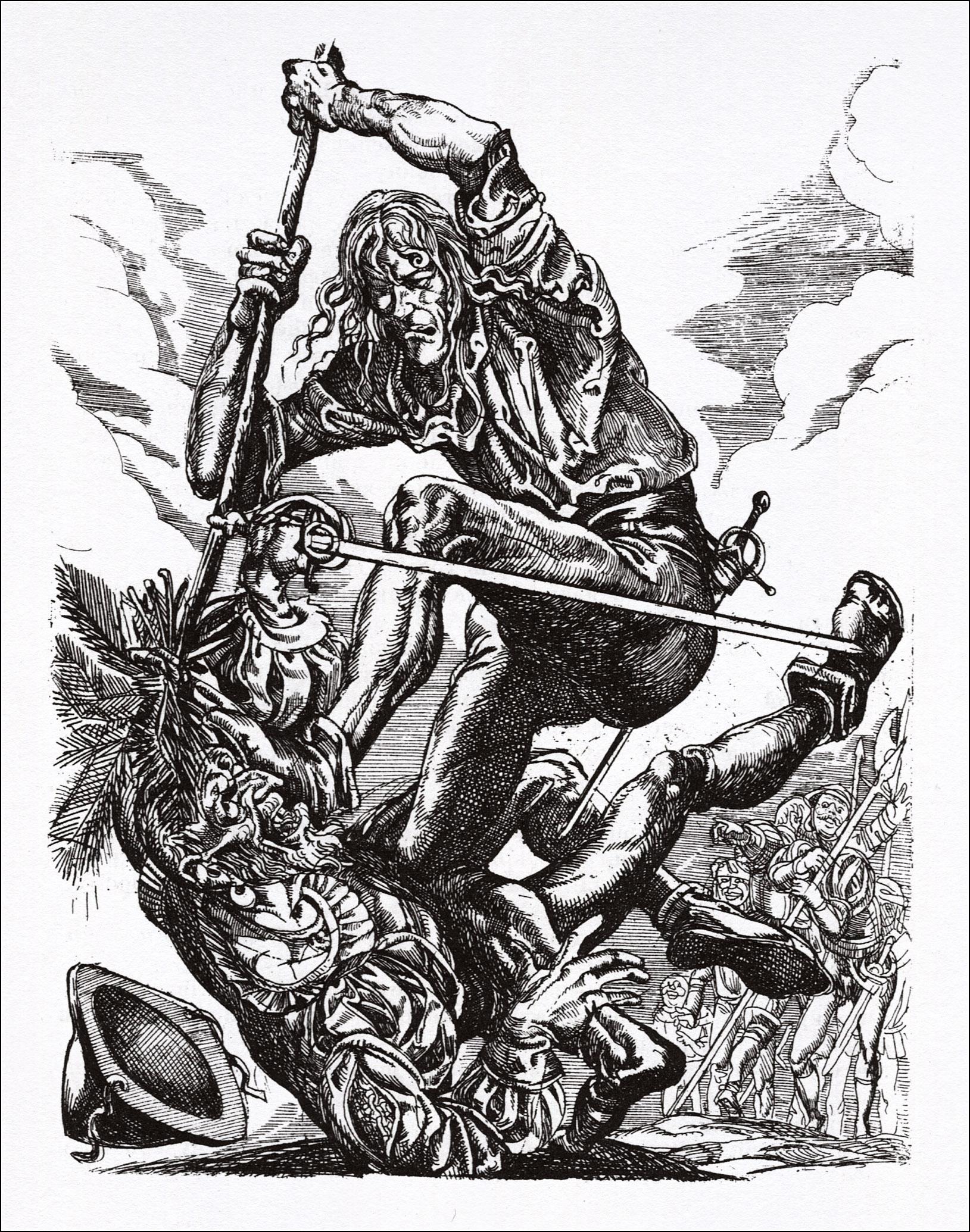 Легенда про героїчні,веселі і славетні пригоди Уленшпігеля4