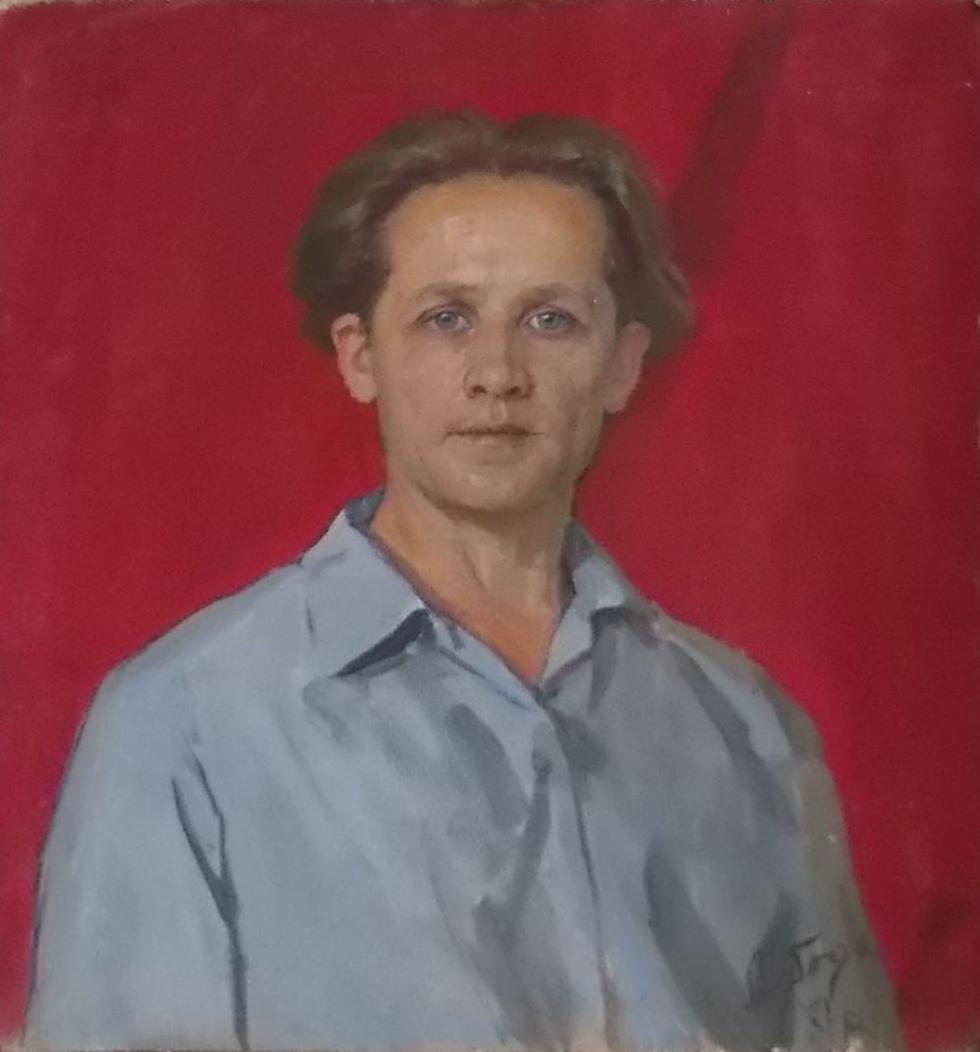 І.І. Лобода, Автопортрет