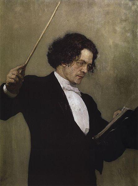 Портрет Антона Рубинштейна