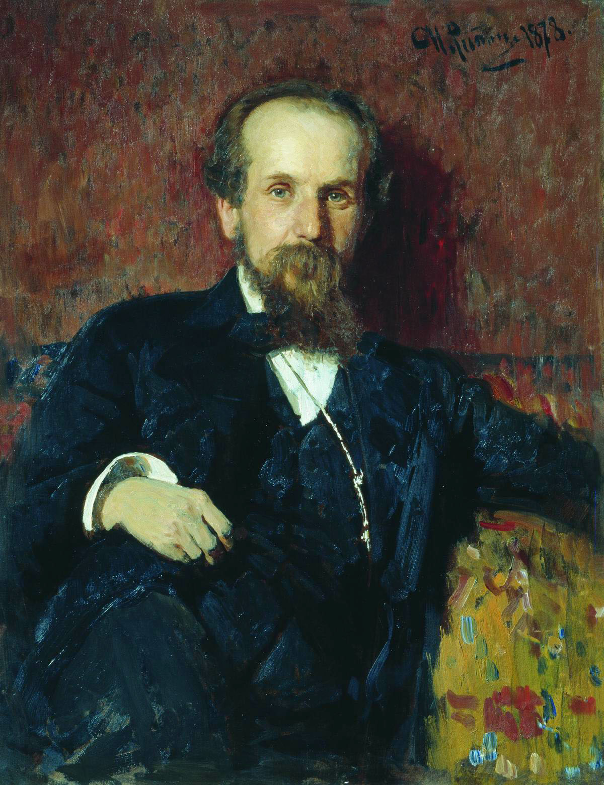 Портрет П.П. Чистякова
