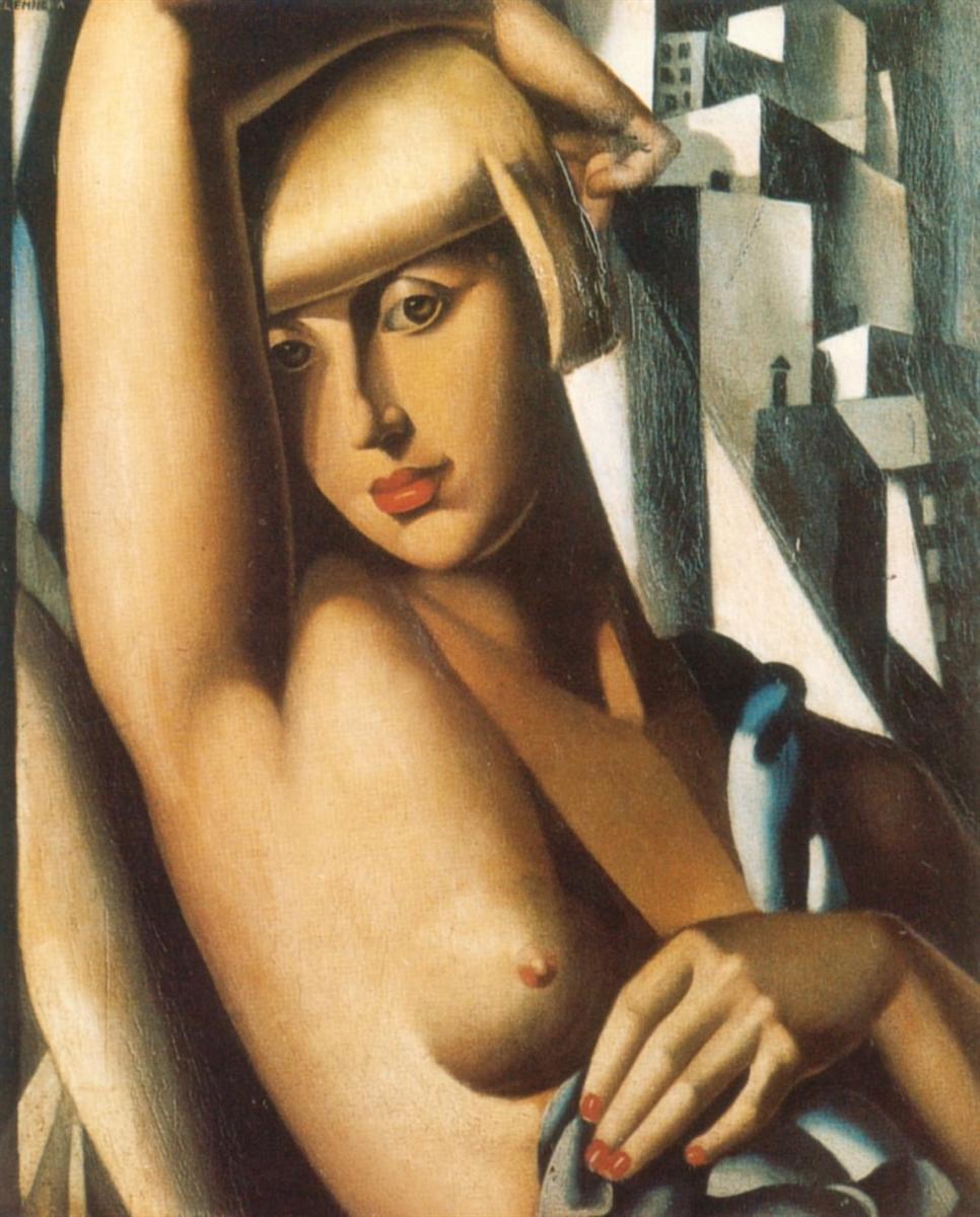 Портрет Сюзи Солидор, 1933