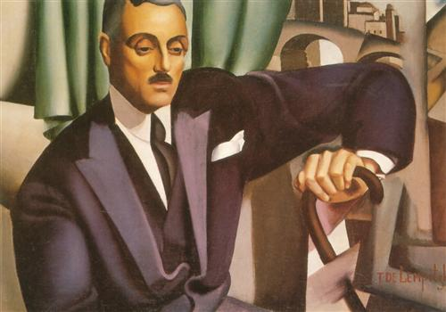 Портрет князя Эристофф, 1925