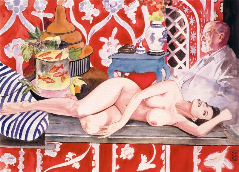 Анри Матисс (Henri Matisse, 31 декабря 1869, Ле-Като-Камбрези, Нор, Франция- 3 ноября 1954, Ницца, Франция)