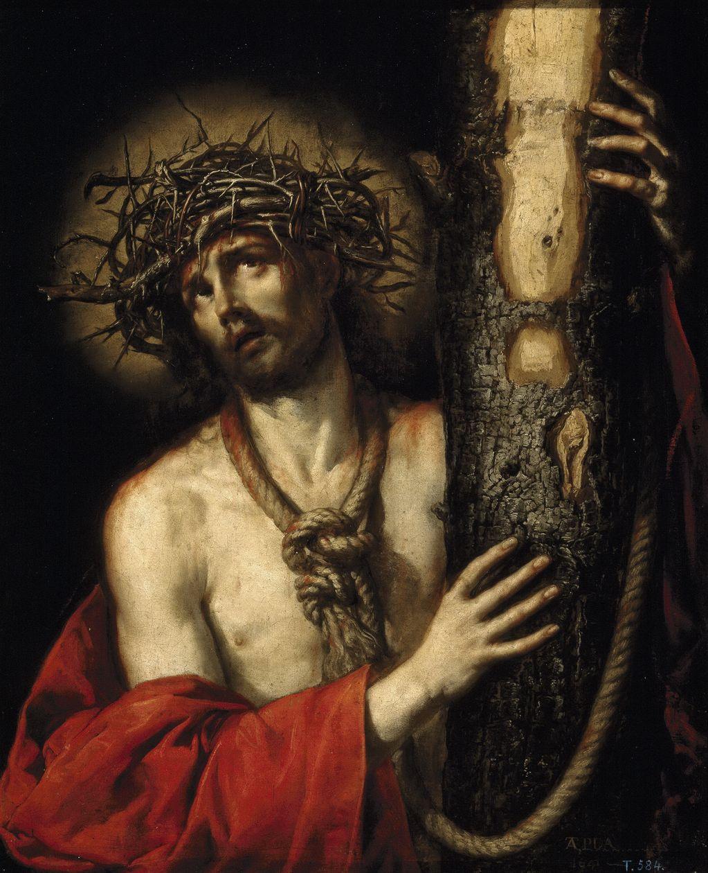 Антонио де Переда-и-Сальгадо (1611-1678) Христос Скорбящий