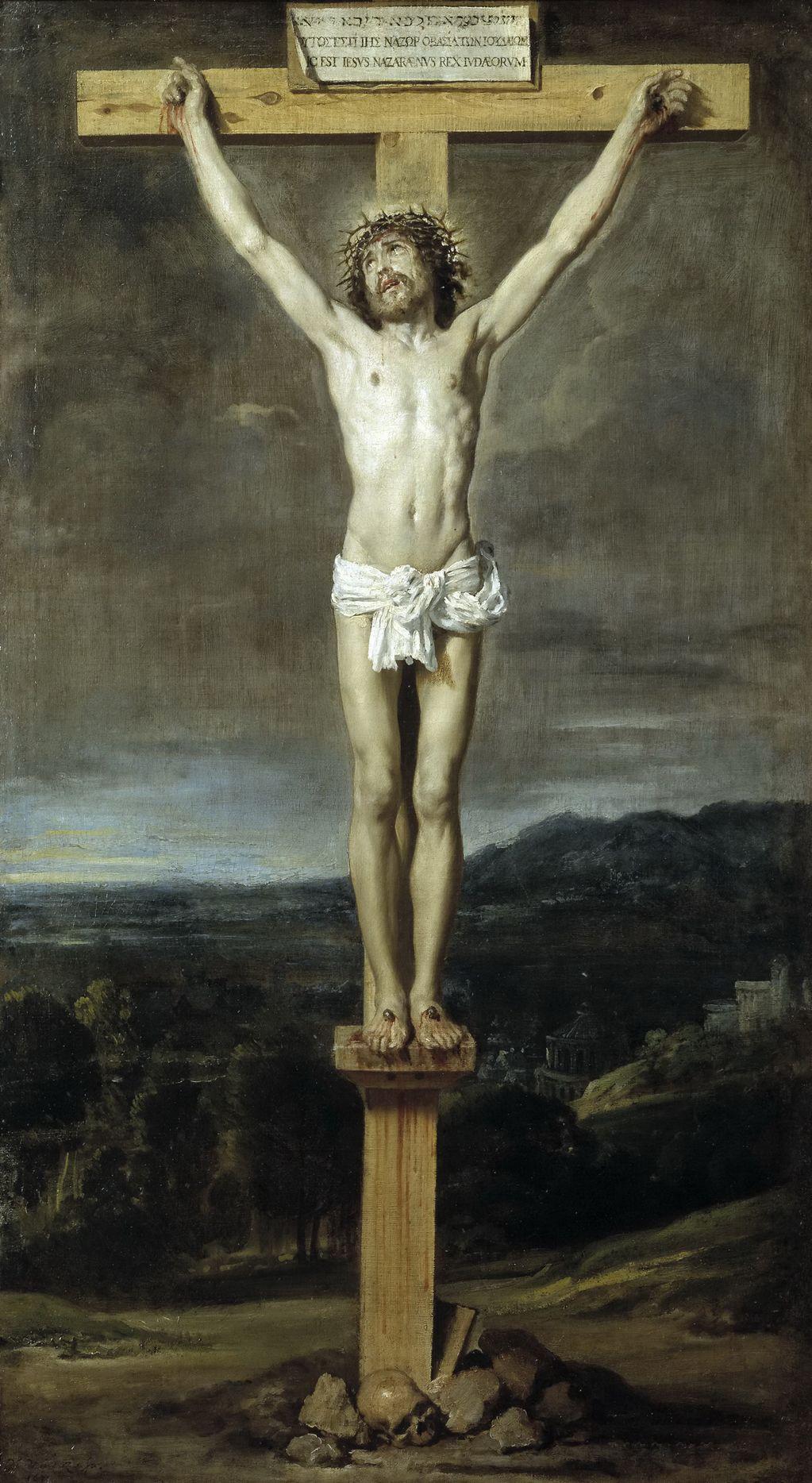 Диего Веласкес (1599 — 1660) Христос на кресте