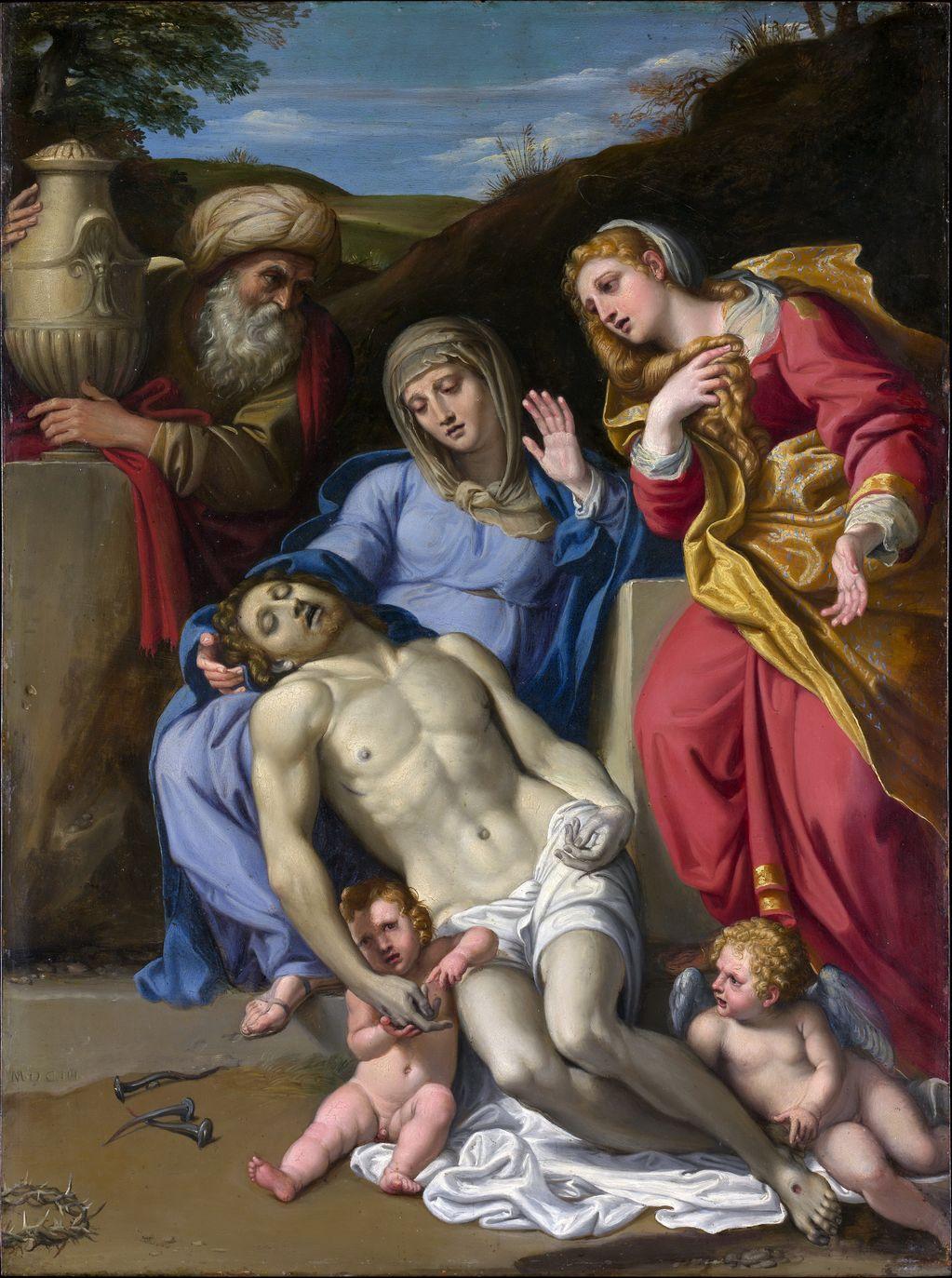 Доменикино (1581-1641) - Плач