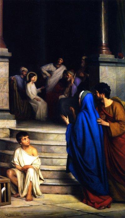 Двенадцатилетний Иисус в храме