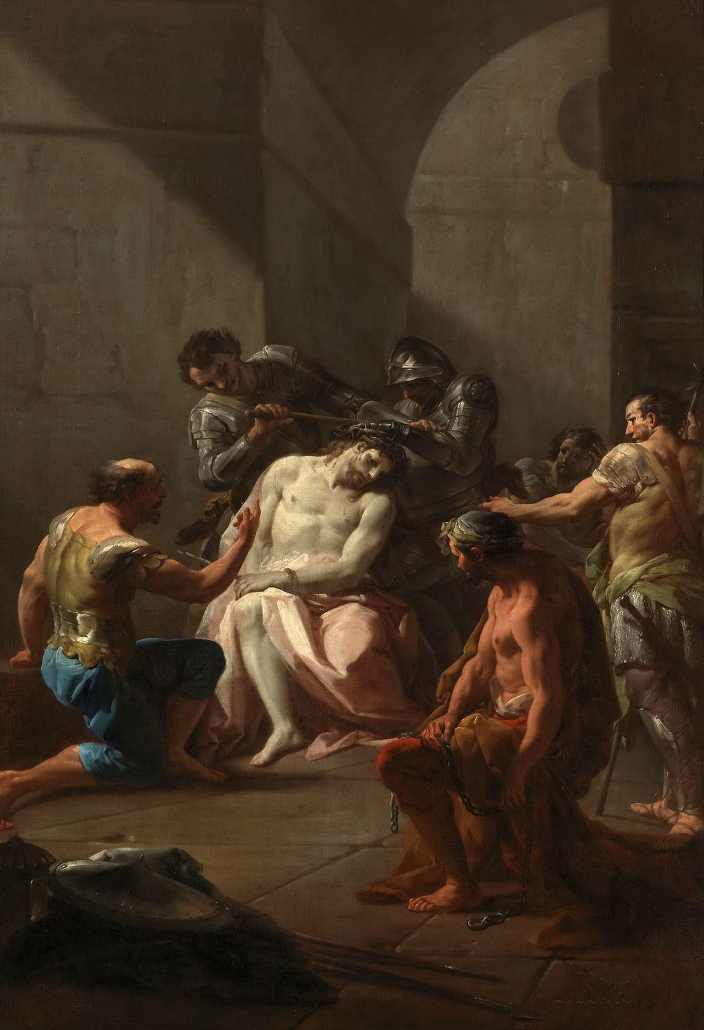 Джакуинто Коррадо (1703-1765) Увенчание тернием