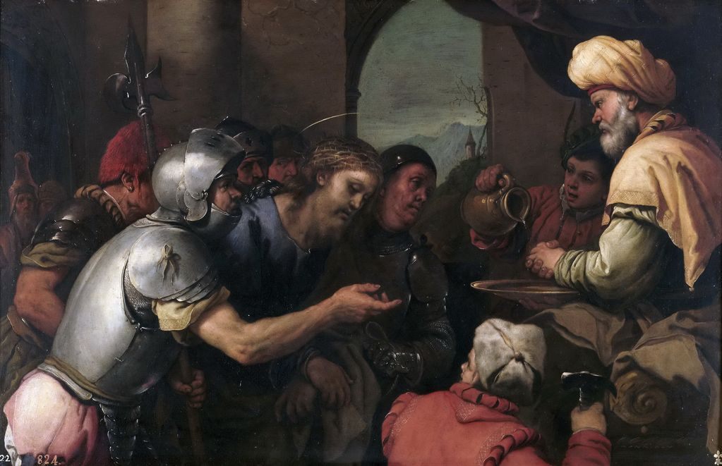 Джордано Лука (1632-1705) Пилат умывает руки
