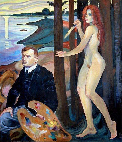 Edvard Munch, 12 декабря 1863, Лётен, Хедмарк — 23 января 1944, Экели, близ Осло