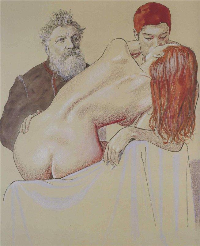 Франсуа Огюст Рене Роден (François-Auguste-René Rodin, 12 ноября 1840 - 17 ноября 1917)