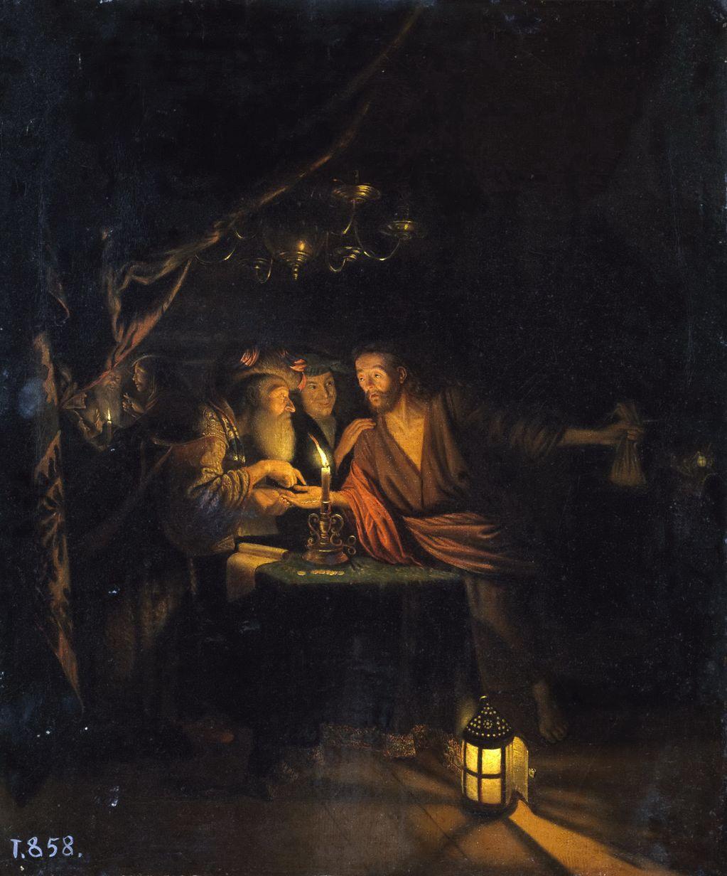 Годфрид Схалькен (1643 —1706) Предательство Иуды