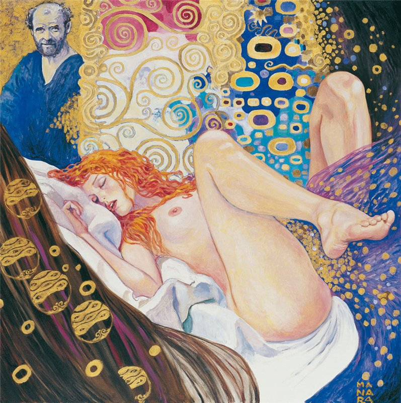 Густав Климт (Gustav Klimt, 14 июля 1862, Баумгартен - 6 февраля 1918, Вена)