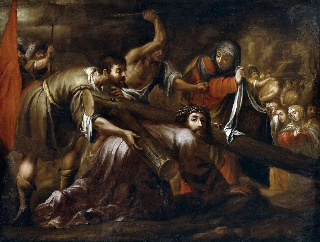 Хуан де Валдес Вальдес Леаль (1622 - 1690)  Путь на Голгофу Иисуса и св Вероника