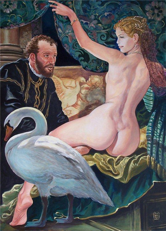 Il pittore e la modella - Paolo Veronese