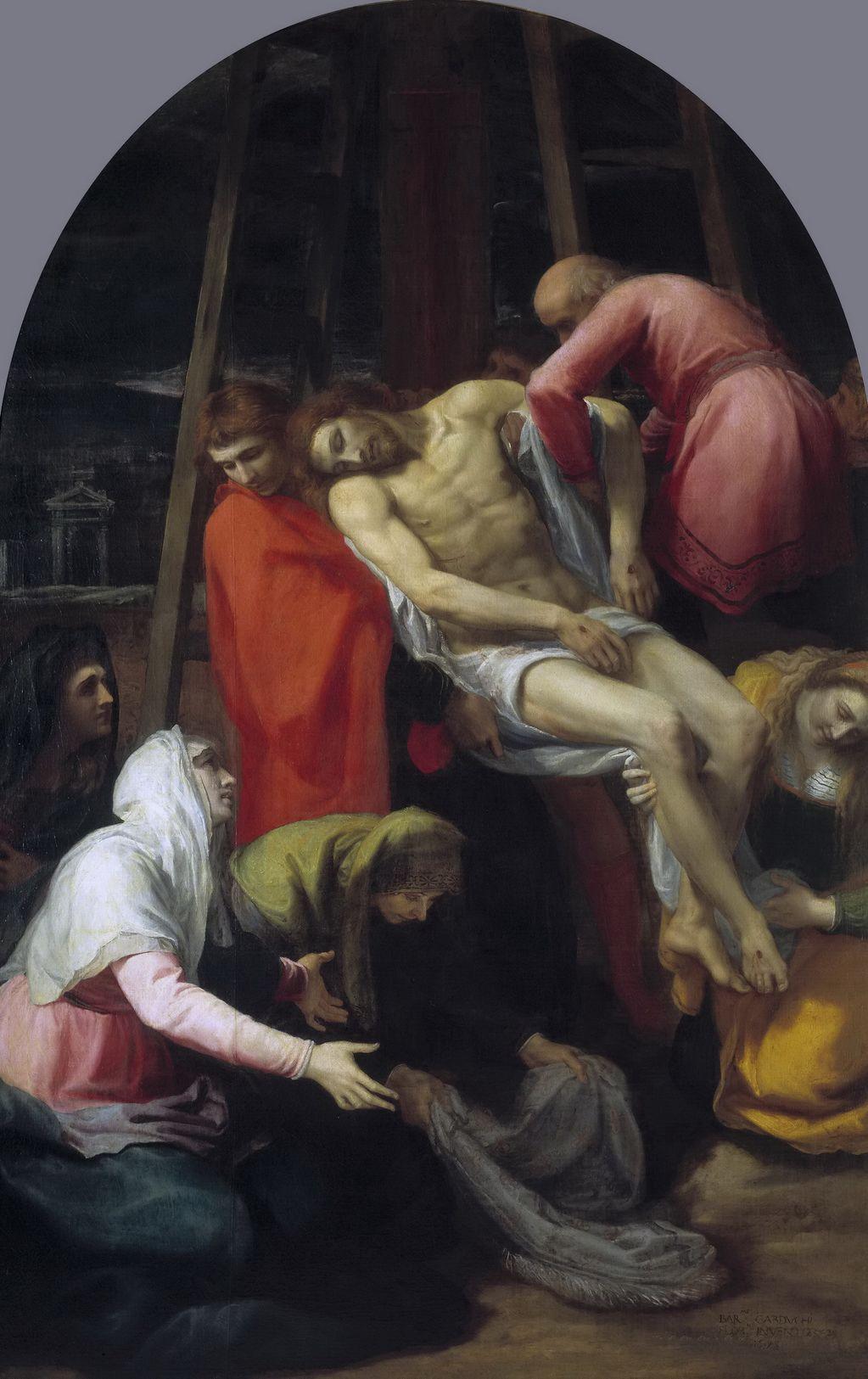 Кардуччи Бартоломео (1560-1608) Снятие с креста