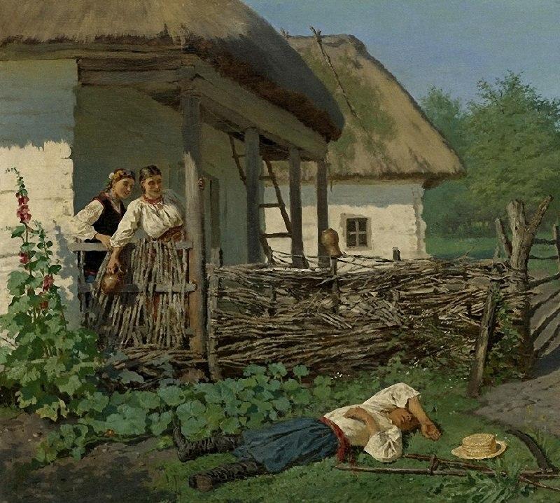 Маковський В. Є. (1846-1920) Раптове пробудження 1883