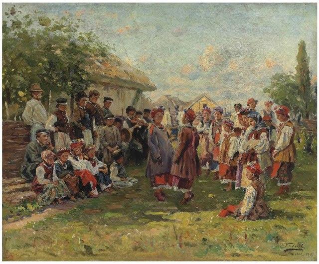 Маковський В. Є. (1846-1920) Свято в Малоросії