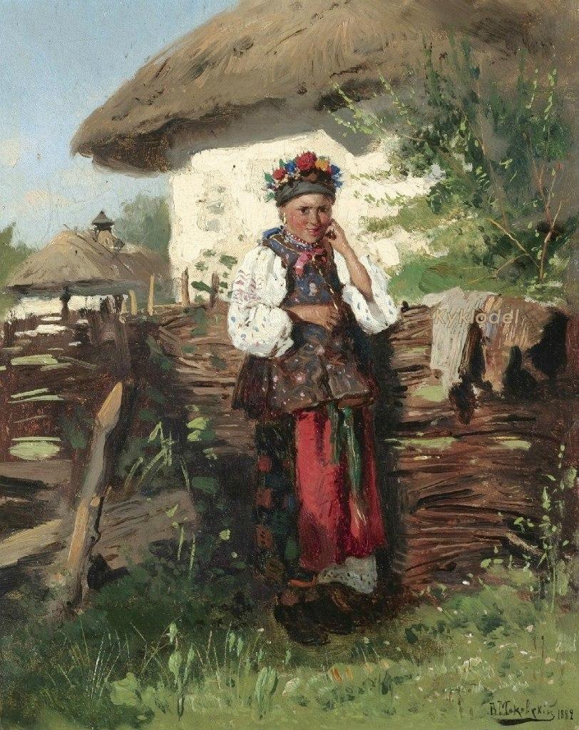 Маковський В. Є. (1846-1920) Українка 1882
