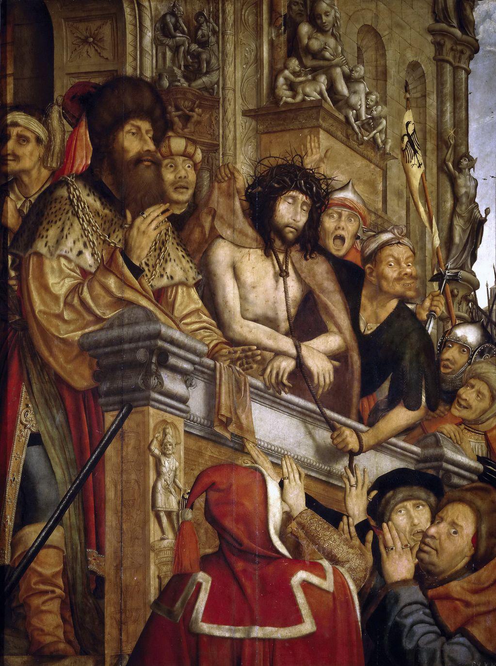 Массейс Квентин (1465 — 1530) Суд над Христом