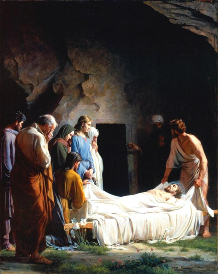 Погребение Христа.