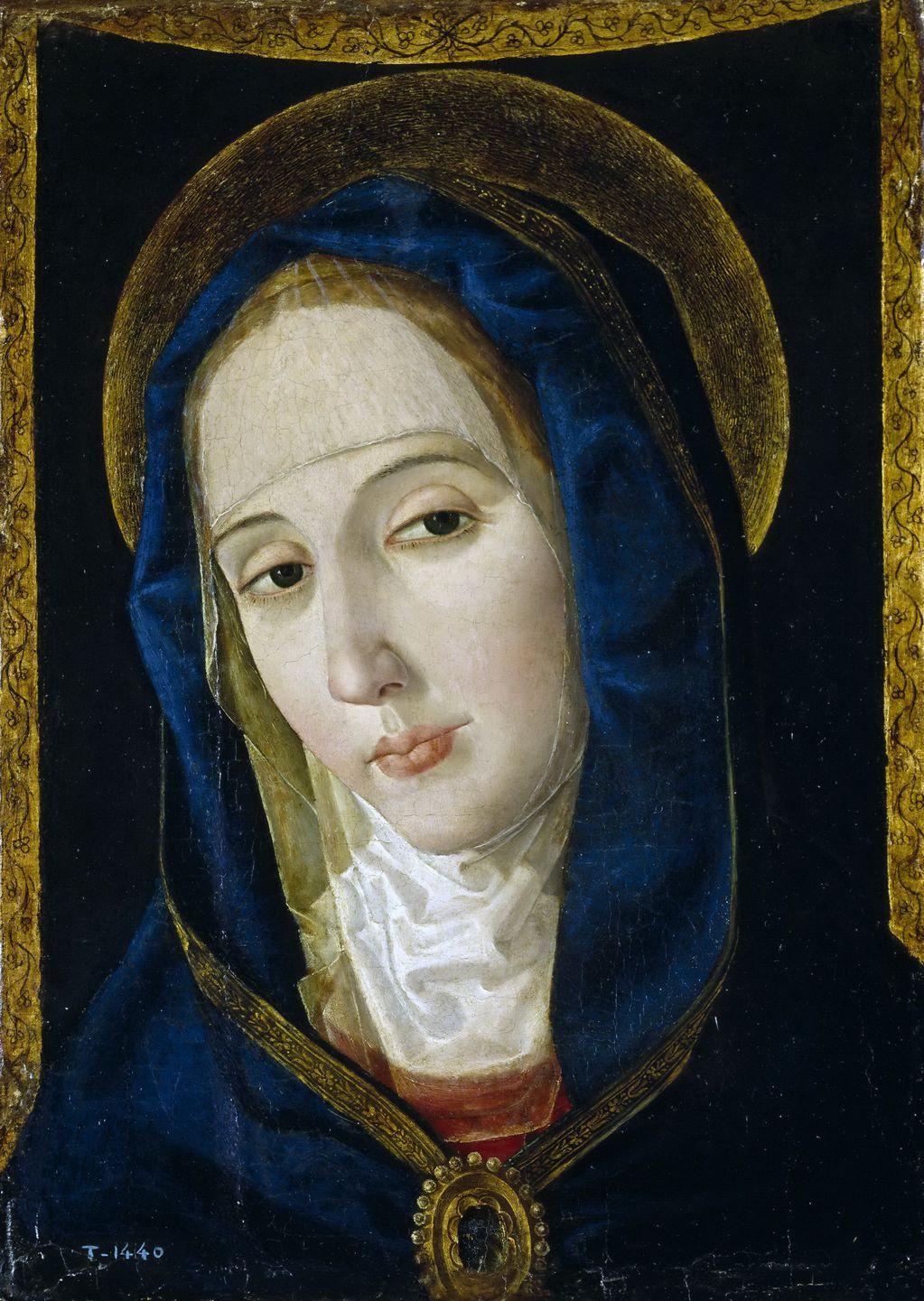 Сан Леокадио, Паоло де (1445 - ок1520) Скорбящая Мадонна