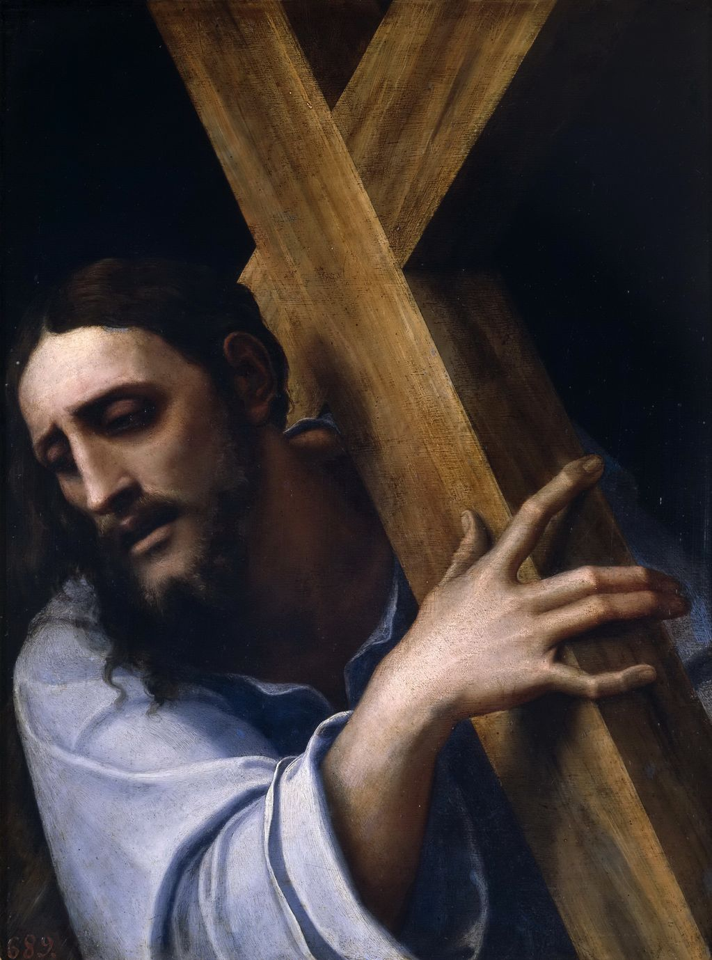 Себастьяно дель Пьомбо (1485-1547) Иисус с крестом
