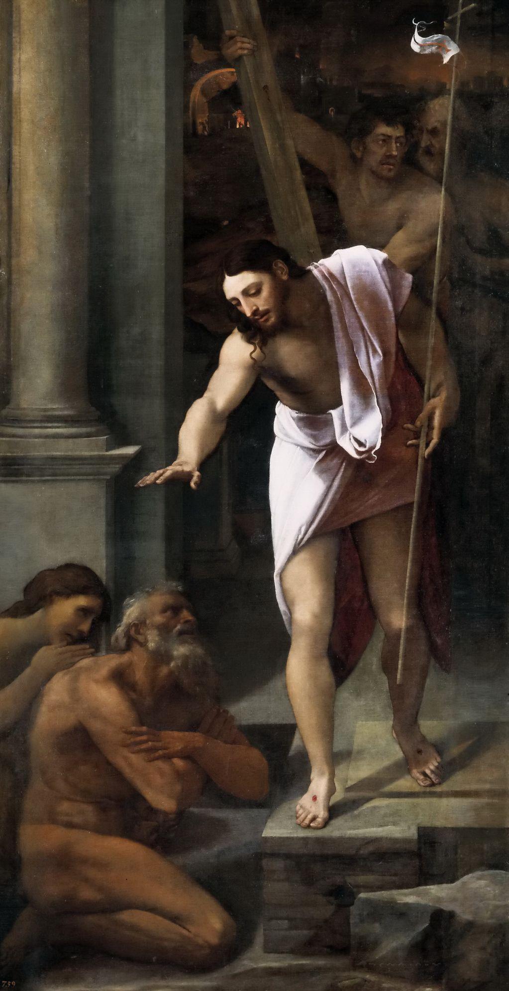 Себастьяно дель Пьомбо (1485-1547) Сошествие Христа во ад