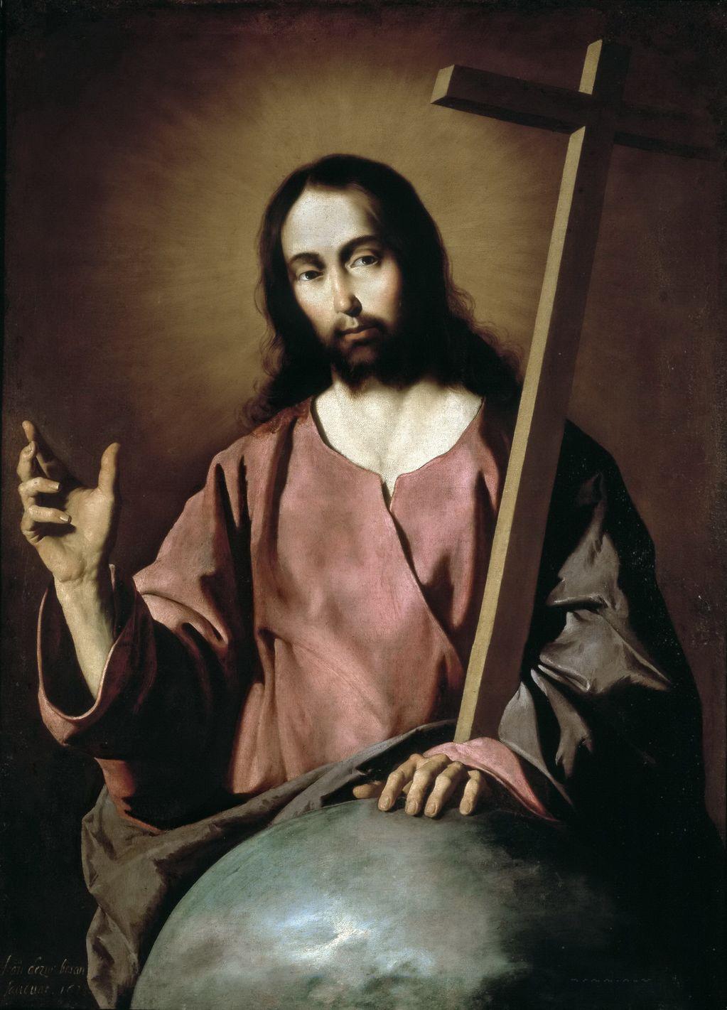Сурбаран, Франсиско де (1598 —1664) Благословляющий Спаситель