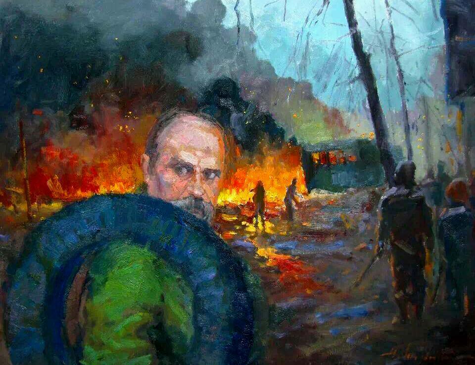Тарас Григорьевич против...Шаповал Юрій