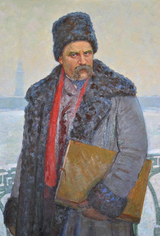 Тарас Шевченко в Петербурге