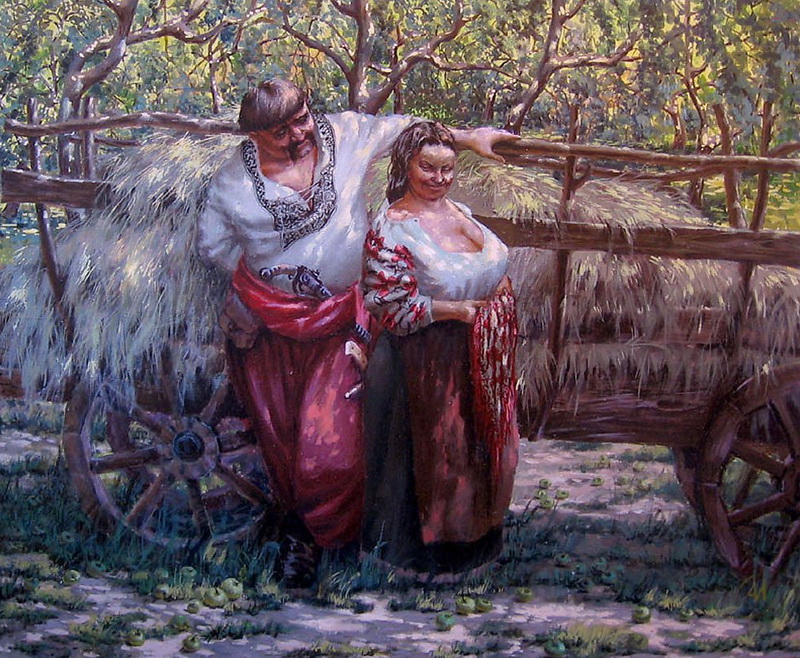 У яблоневу садочку