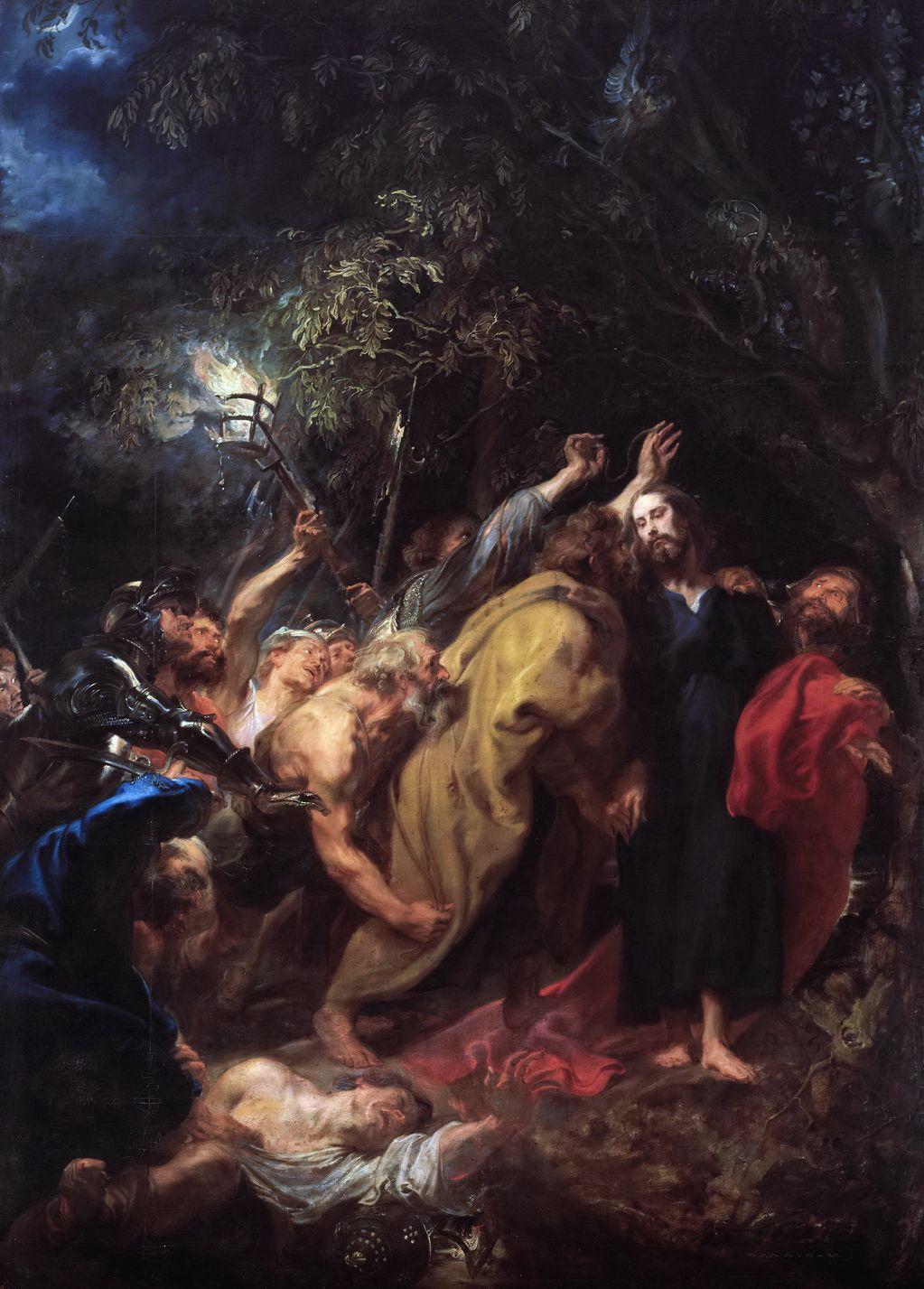 Ван Дейк, Антонис (1599 — 1641) Взятие под стражу
