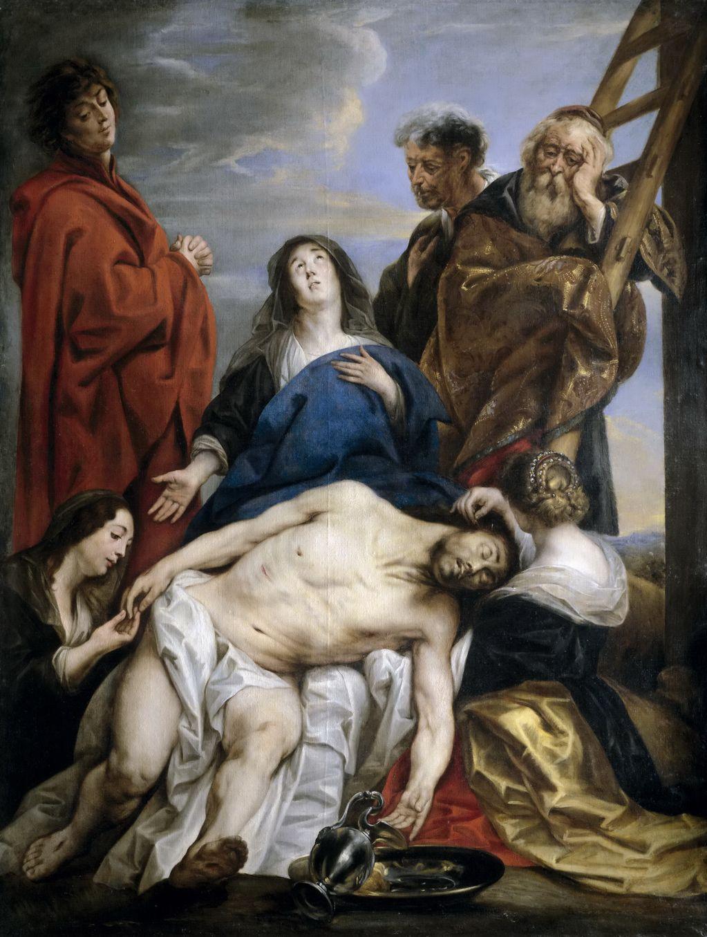 Йорданс, Якоб (1593-1678) Пьета