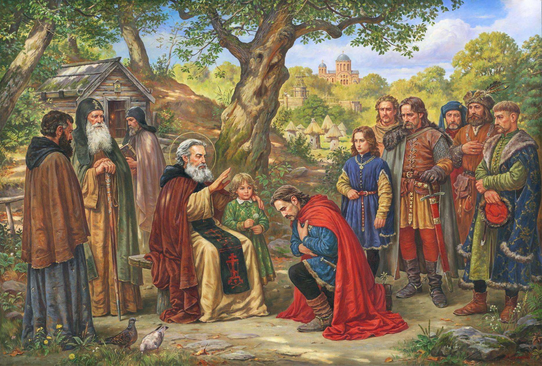 Благословение Феодосия Святого (князя Федора Острозького) Киево-Печерськая Лавра