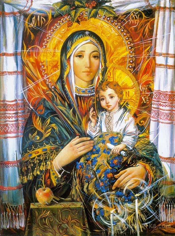 Божа матір Благодатна