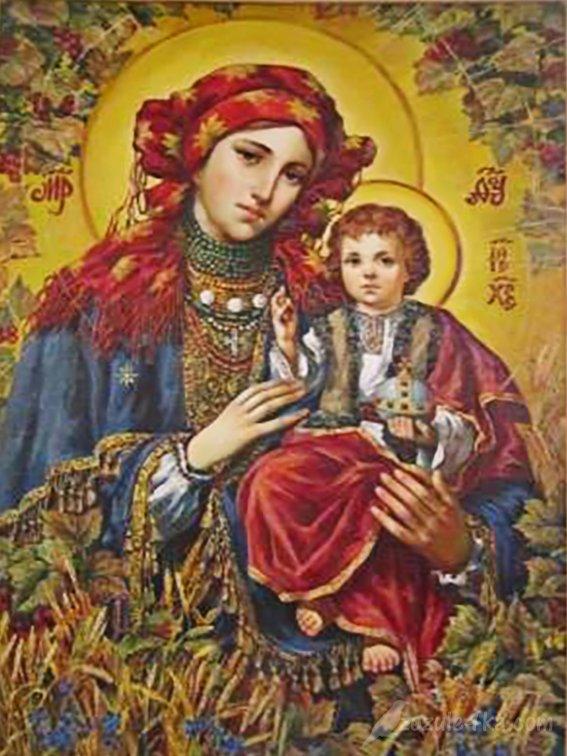 Ікона Криворівненської Божої Матері