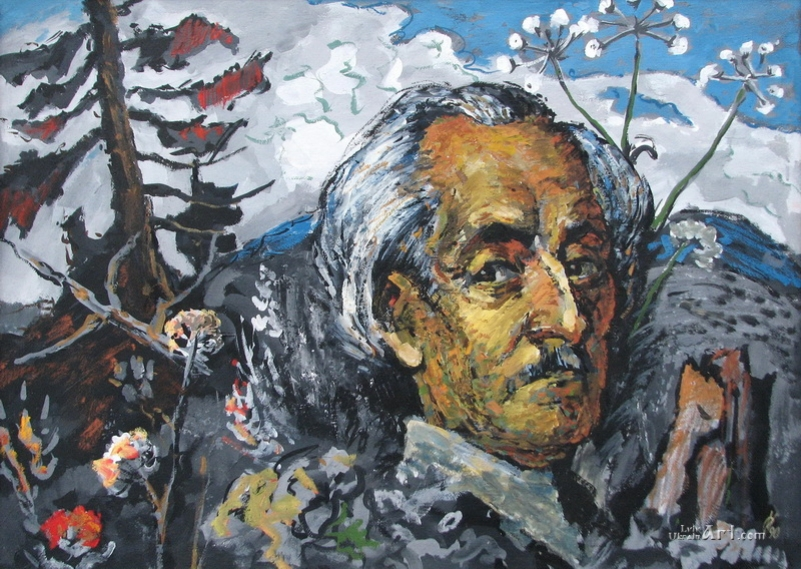 Портрет Р. Сельського