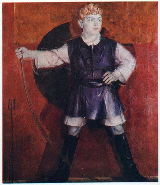 Портрет Романа Кричевського, сина художника. 1925