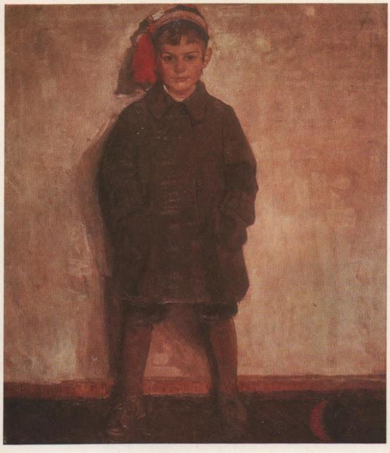 Портрет хлопчика. 1910
