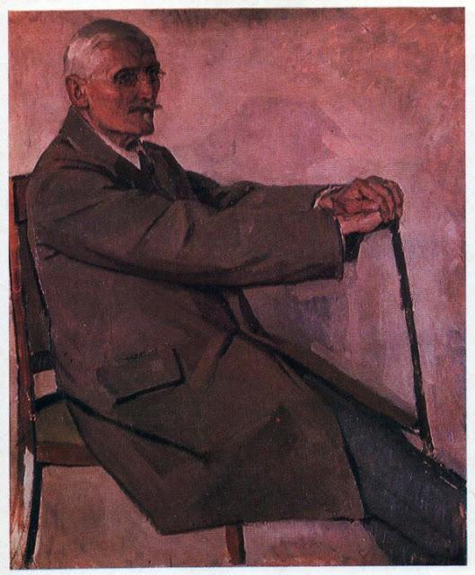 Портрет історика мистецтв, професора Г.Г. Павлуцького. 1922-1923