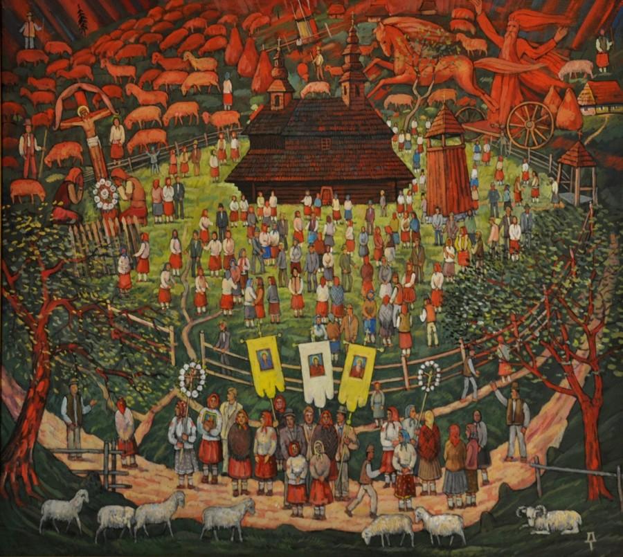 Праздник святого Ильи в селе Букивцево