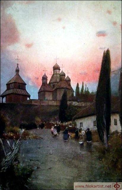 Церква в с.Ходорові на Київщині.
