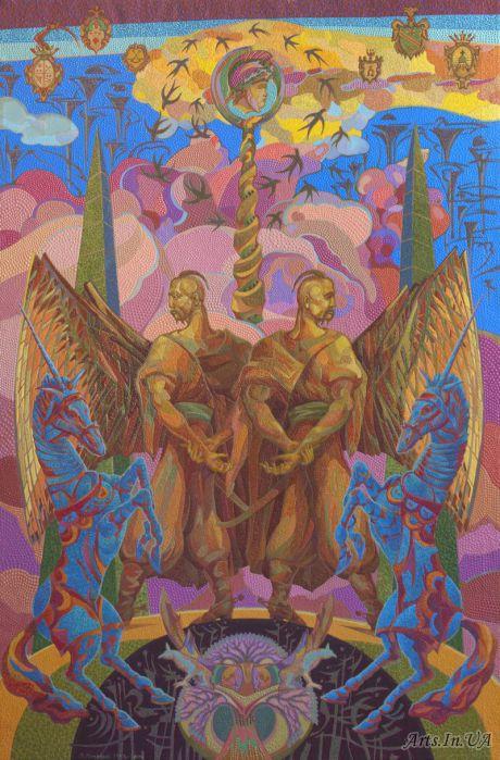Цикл работ Гомоніла Україна, довго гомоніла -Козацкая слава