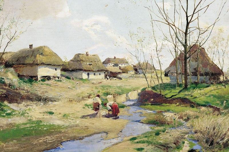 Весняний день в Україні