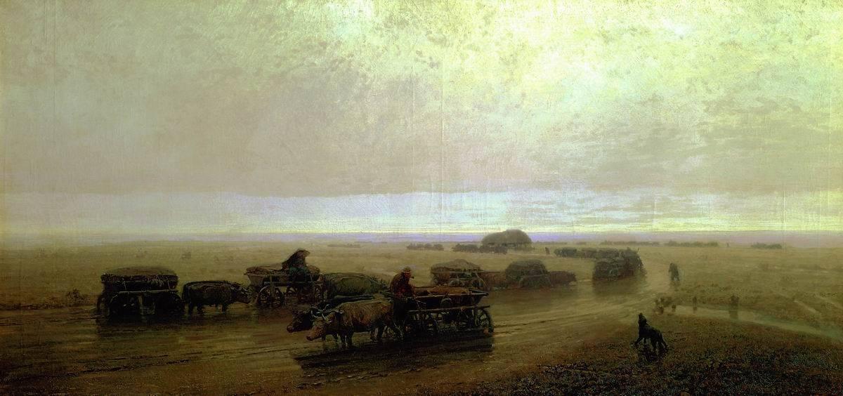 Чумацький шлях у Маріуполі, 1875