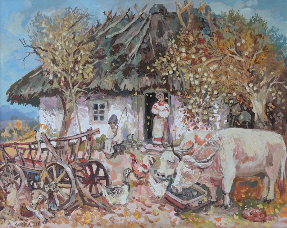 Осень на хуторе