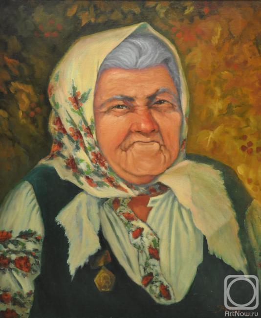 Подольская фольклористка Настя Андриановна Присяжнюк
