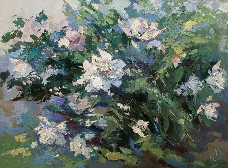 Цветы и ветер